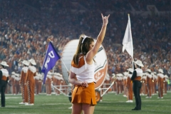 Abby L UT Cheer back hookem