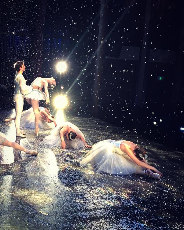 Ally G Ballet snow queen 2017