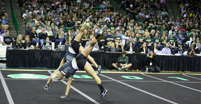Allie Baylor Acro tumbling 2017