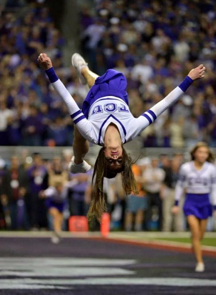 Brook S cheer flip
