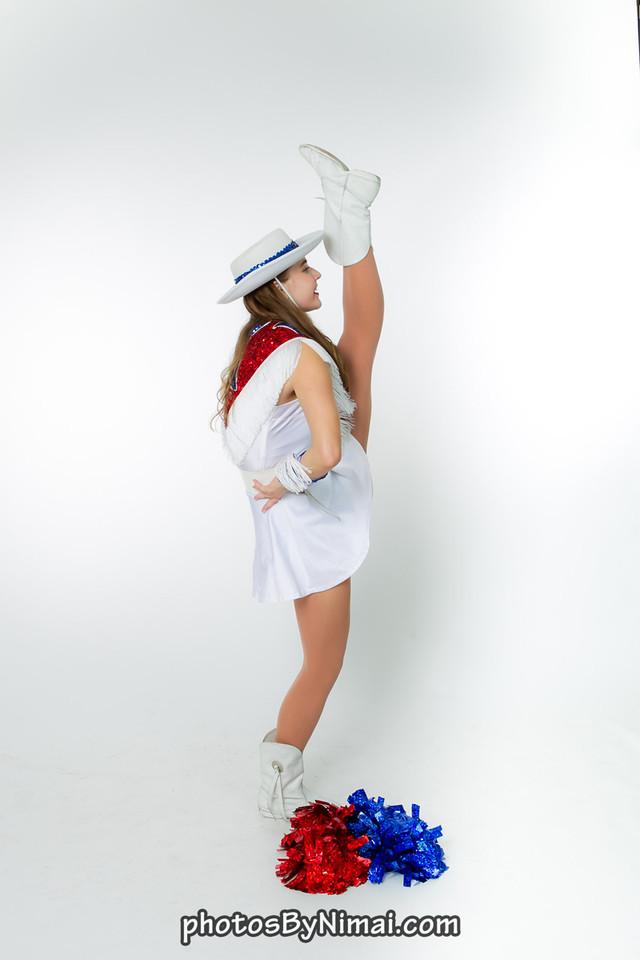Lauren R high kick drill 2014