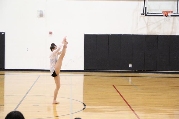 Paige D kick high school modern 2017