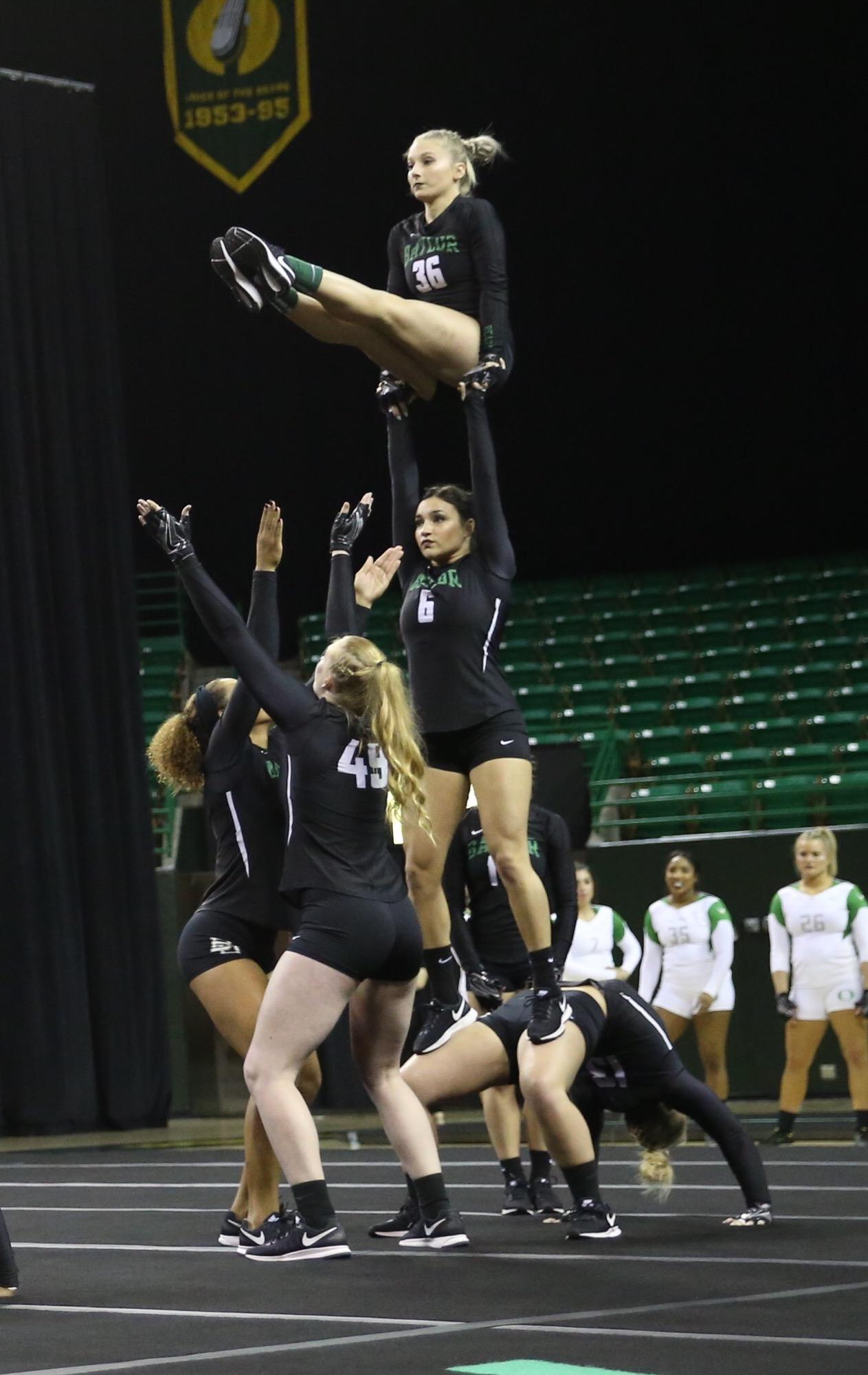 Athletics – Acrobatics and Tumbling (A&T) vs Oregon - Ferrell Center – 04/02/2017