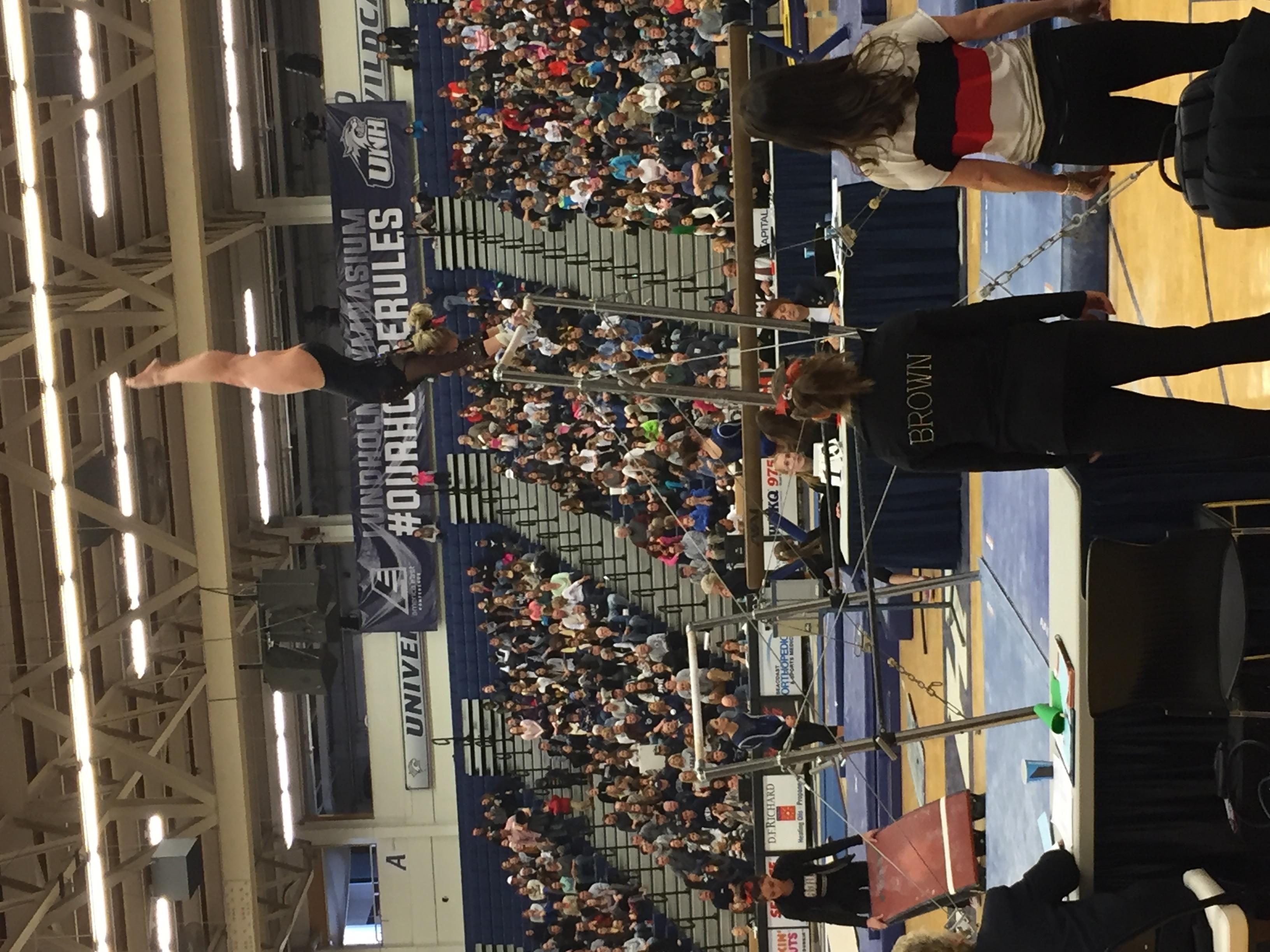 Diana W Brown bar handstand 2 2016