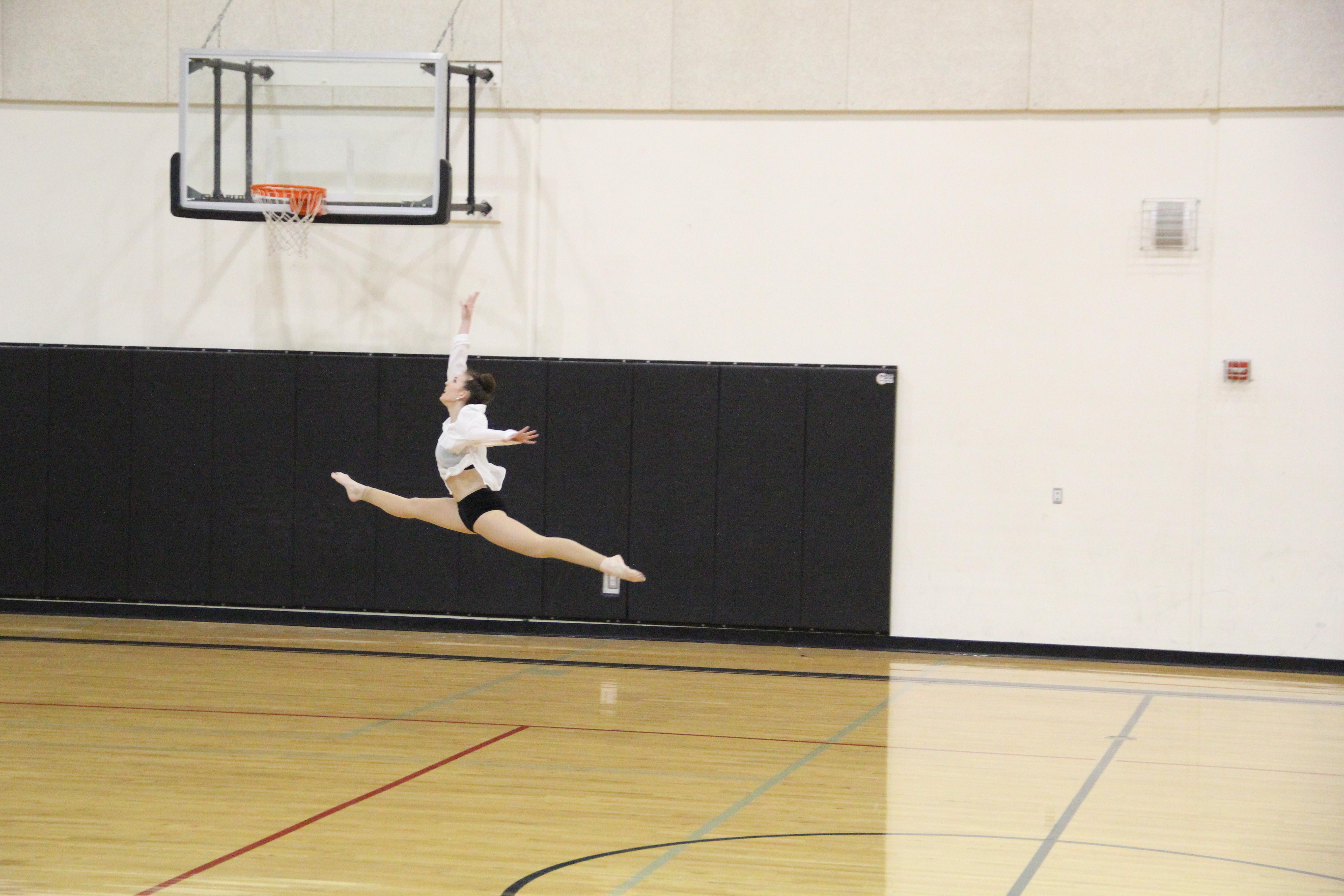 Paige D leap highschool modern 2017