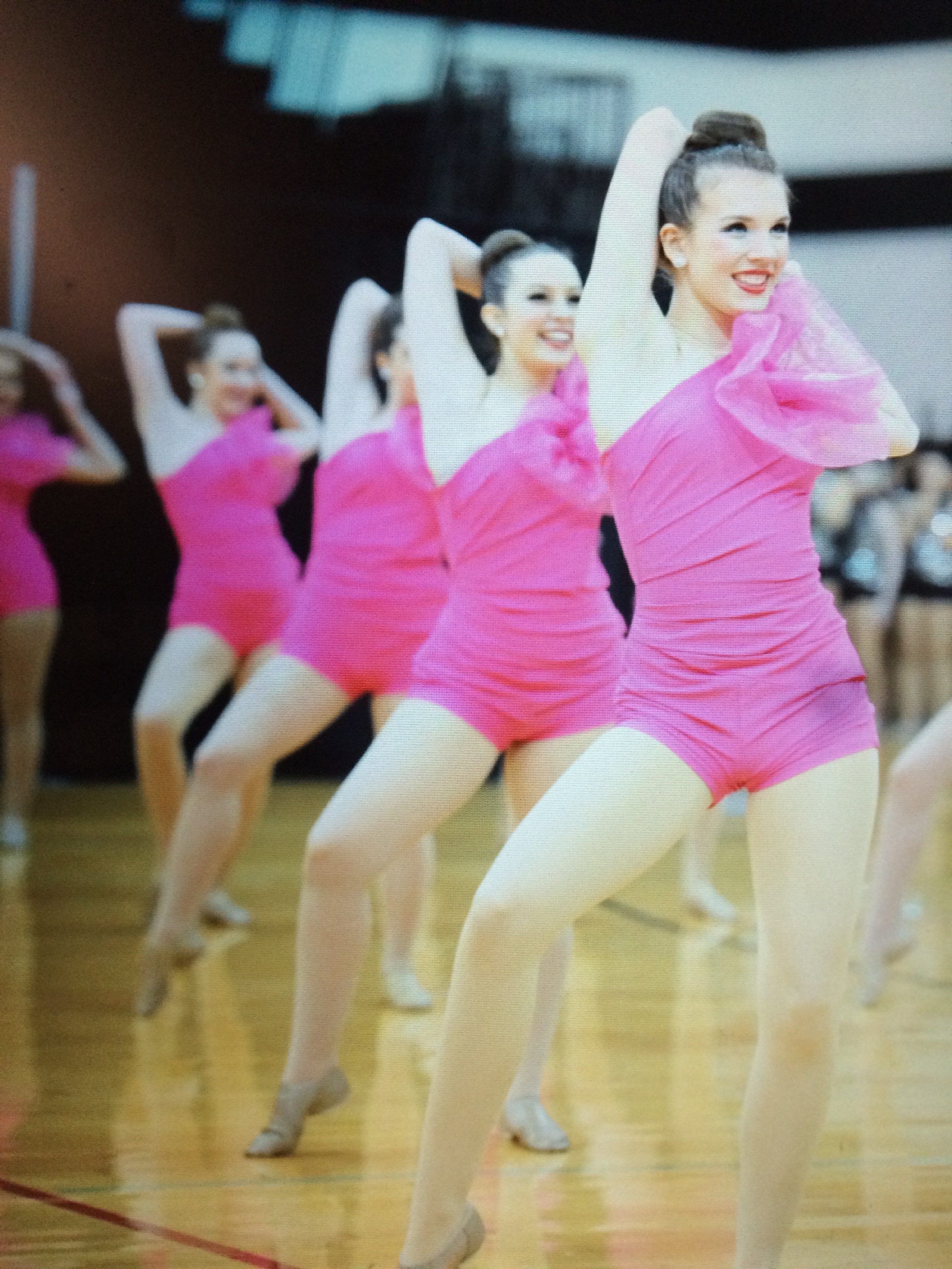 Paige D pink drill team 2017